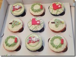 Xmas cupcakes 3