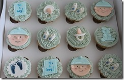 Babyshower Cupcakes 2 Feb 2013