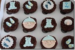 Babyshower Cupcakes Feb 2013