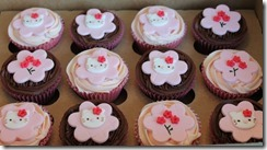 More HelloKitty Cupcakes